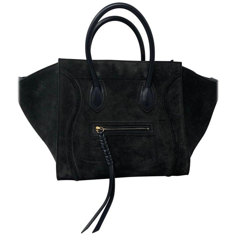 1d2e8410ba799 Celine Phantom Wildledertasche im Angebot bei 1stdibs