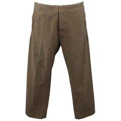 MAISON MARTIN MARGIELA Size 30 Charcoal Nailhead No Waistband l Pants