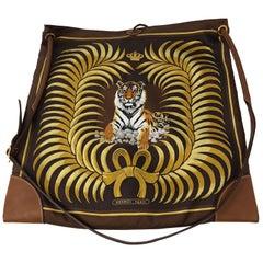 8e1eba883101 Chanel Fantasy Black Fur and Tweed Bag · Negotiable · Hermes Tiger Silk  City Bag