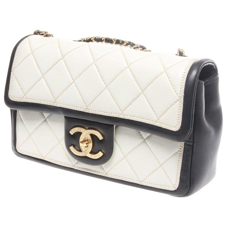 Chanel Classic Quilted Caviar handbag