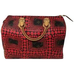 Louis Vuitton Red Dots Yayoi Kusama Speedy 30