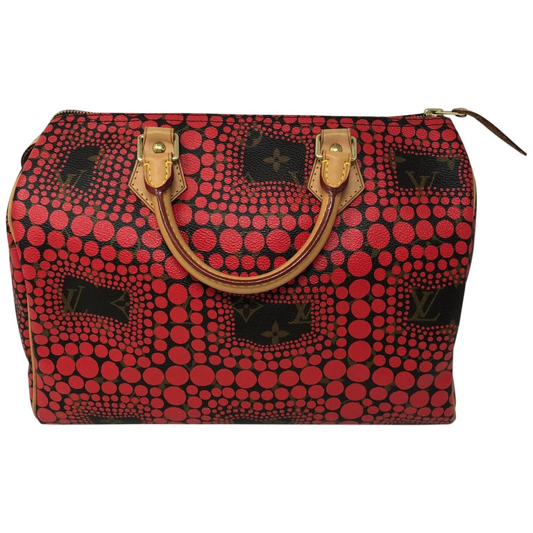 752dbffe6113 Louis Vuitton Red Dots Yayoi Kusama Speedy 30 For Sale at 1stdibs