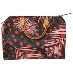 Louis Vuitton Sugar Pink Poppy Jungle Speedy 30