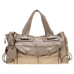 1359c8889b Chloe Navy/Grey Bi-Color Large Baylee Tote rt. $2,260 For Sale at ...