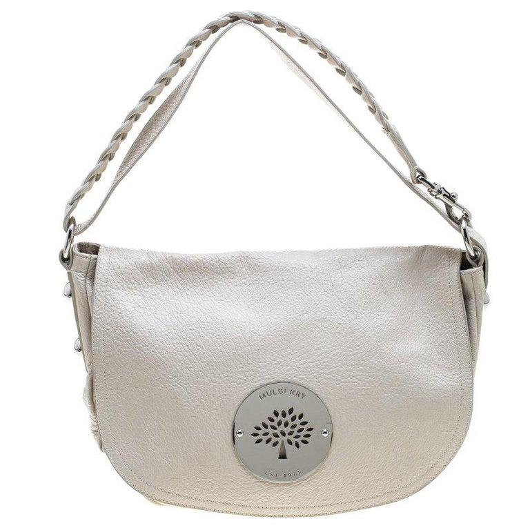Mulberry Cream Leather Daria Hobo For Sale at 1stdibs bdd3080dce