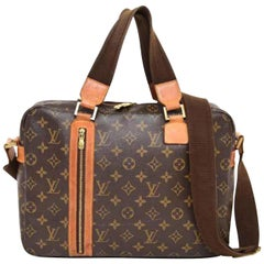 Louis Vuitton Bosphore Monogram 2way 226566 Brown Coated Canvas Shoulder Bag