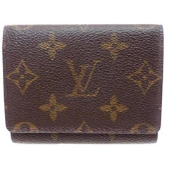 Louis Vuitton Monogram Card 226723 Wallet