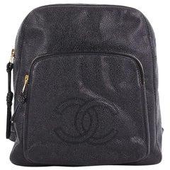 Chanel Vintage Pocket Backpack Caviar Medium
