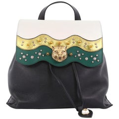 Gucci Animalier Malin Backpack Studded Leather Medium