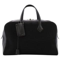 Hermes Victoria II Handbag Toile 43