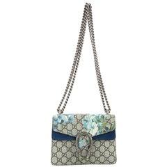 Gucci Dionysus Handbag Blooms Print GG Coated Canvas Mini