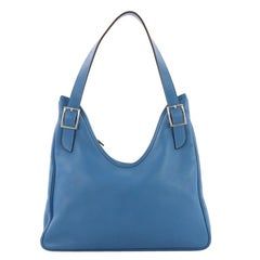 Hermes Massai Cut Handbag Leather 32