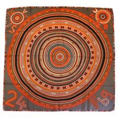 2004 Hermes Multi Tohu Bohu Giant Silk Carre/Claudia Stuhlhof-Mayr