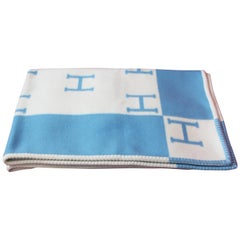 Blue Pillows and Throws