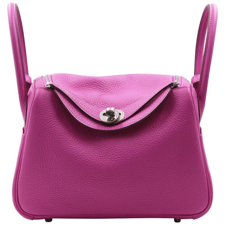 Hermès Lindy 26 Bag, Magnolia For Sale