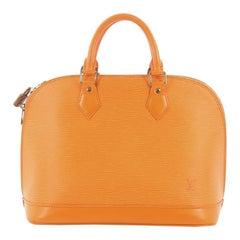 d02503bf33e5 Louis Vuitton Vintage Alma Handbag Epi Leather PM. Louis Vuitton Montaigne Handbag  Monogram Empreinte ...