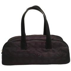 Chanel Black Nylon Traveline Handbag