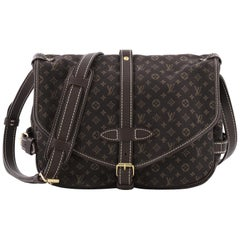 Louis Vuitton Saumur Handbag Mini Lin
