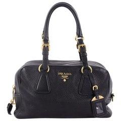 Prada Bauletto Handbag Vitello Daino Medium