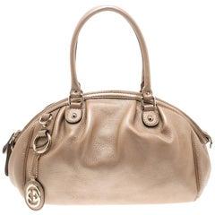 Gucci Beige Leather Medium Sukey Boston Bag
