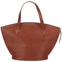 Louis Vuitton Brown Epi Saint Jacques