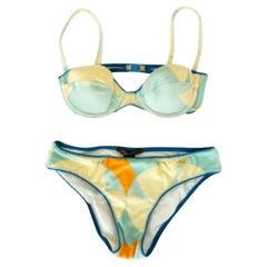 Beige Swimwear