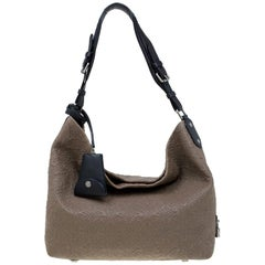 Louis Vuitton Brown Monogram Antheia Leather Hobo PM Bag