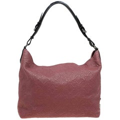 Louis Vuitton Framboise Monogram Antheia Leather Hobo PM Bag