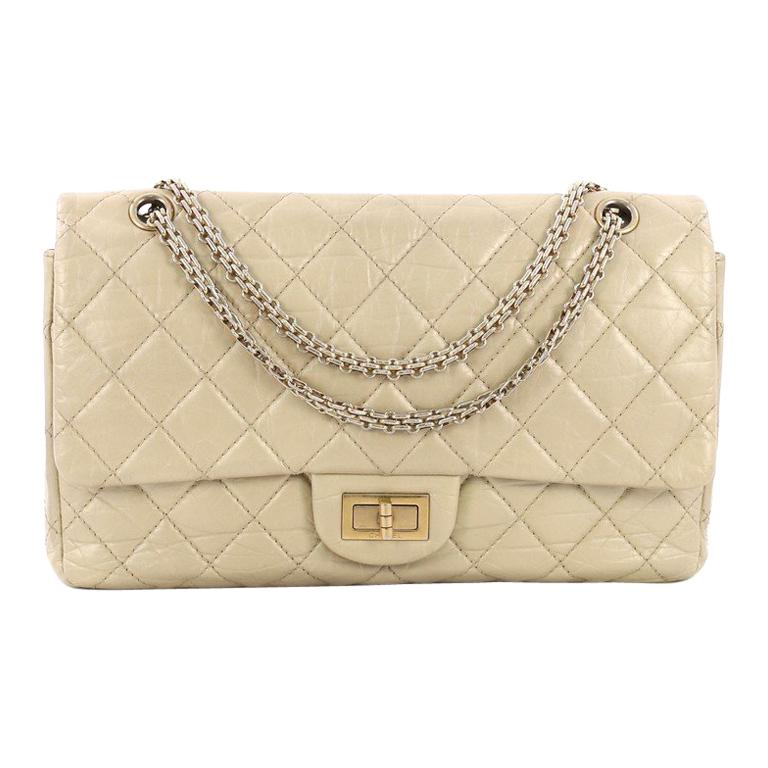 f55782f55f67e4 Chanel Reissue 2.55 Handbag Quilted Aged Calfskin 227 For Sale at 1stdibs