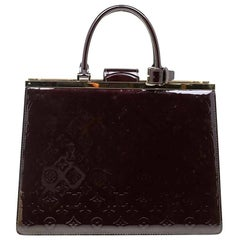 Louis Vuitton Amarante Monogram Vernis Deesse GM Bag