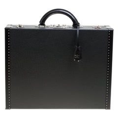 Louis Vuitton Black Taiga Leather President Briefcase