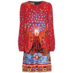 $24K Valentino's Enchanted Wonderland Sequin Embellished Dress