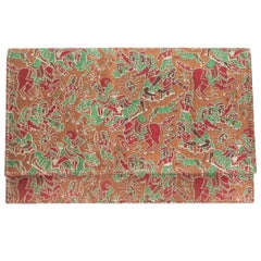 Princess Diana Wedding Designer Clive Shilton Cartier Fabric Purse Pochette