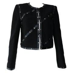 Chanel Black Embellished Jacket