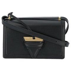Loewe Black Leather Barcelona Crossbody