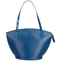 Louis Vuitton Blue Epi Saint Jacques Long Strap PM
