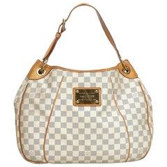 Louis Vuitton White Damier Azur Galleria PM