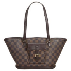 Louis Vuitton Brown Damier Ebene Manosque PM