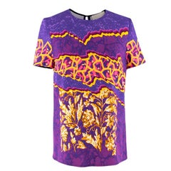 Peter Pilotto Abstract Digital Printed Top US 4