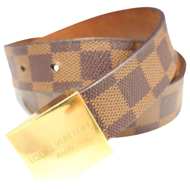 d1df6f422680f Vintage Louis Vuitton Belts - 32 For Sale at 1stdibs