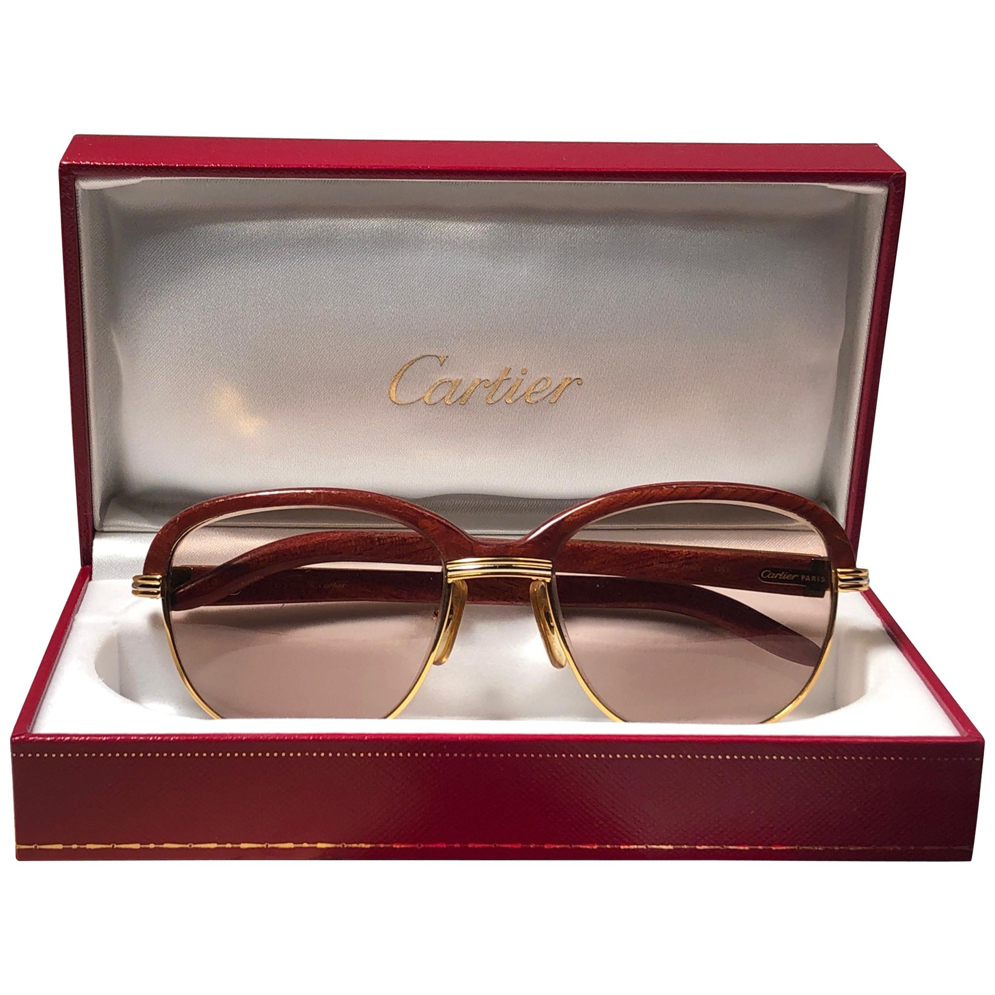 9792cbed82 Vintage Cartier Sunglasses - 158 For Sale at 1stdibs