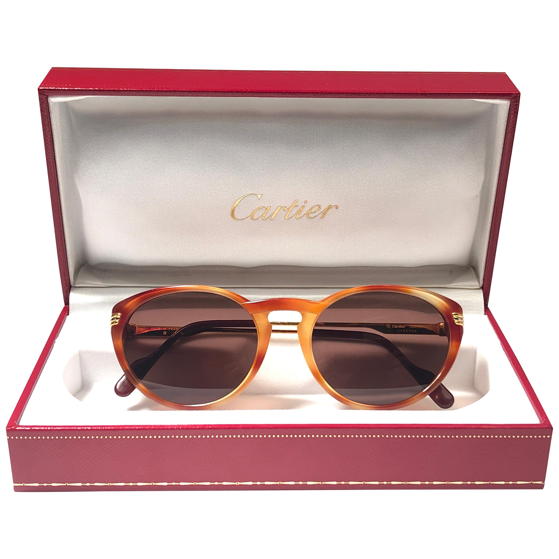 971d696e82a Vintage Cartier Sunglasses - 160 For Sale at 1stdibs