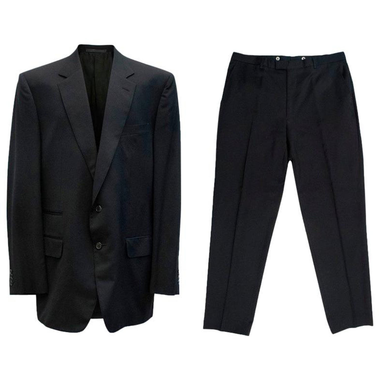 71a586bb5 Gucci Black Wool Suit For Sale at 1stdibs