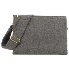 Celine Trio Messenger Bag Wool Large
