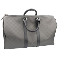 Men's 2010 Louis Vuitton Damier Carbone Keepall 45