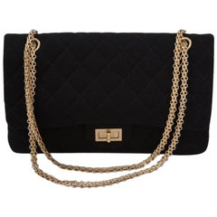 Chanel Reissue 2.55 Quilted Double Flap Jumbo Bag