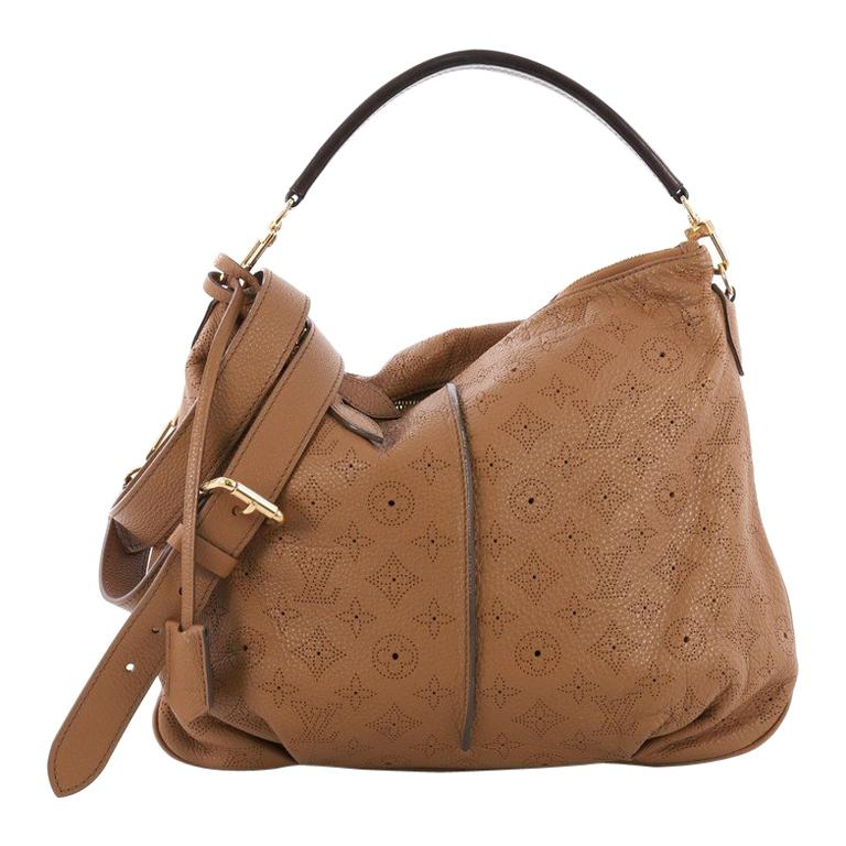 1c153248a7 Louis Vuitton Selene Handbag Mahina Leather PM For Sale at 1stdibs