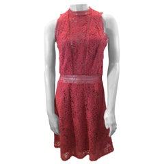 Rebecca Taylor Coral Lace Dress