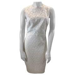 Elizabeth & James White Print Dress