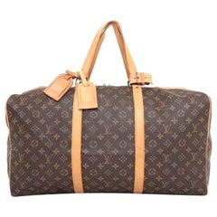 Louis Vuitton Sac Souple Monogram 55 230343 Coated Canvas Weekend/Travel Bag